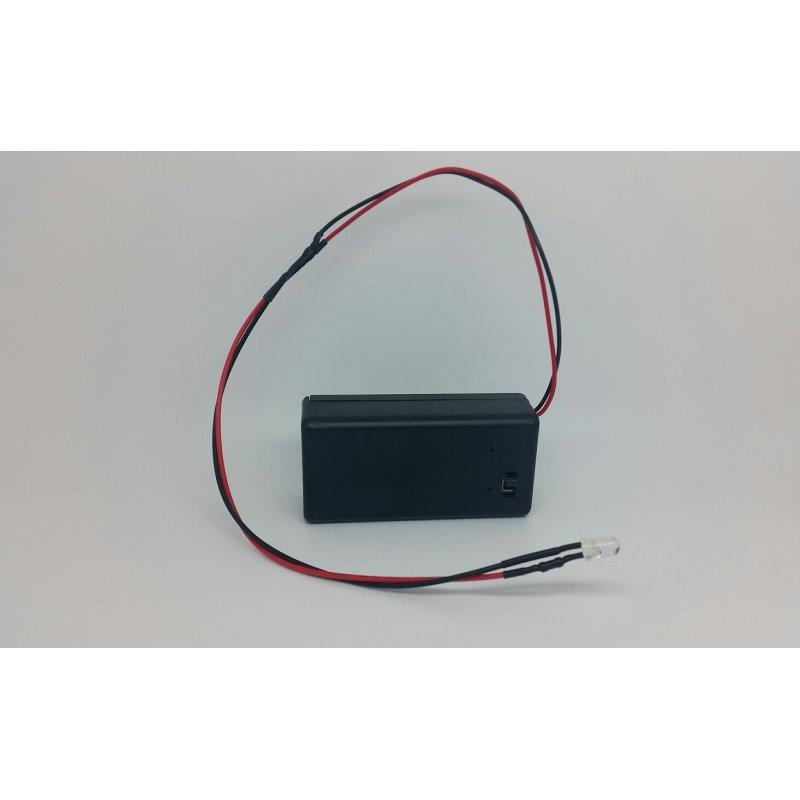 LED Beleuchtung Mit 9 Volt Box Basteln Krippe Heimwerken Modellbau Lkw  Tracktor