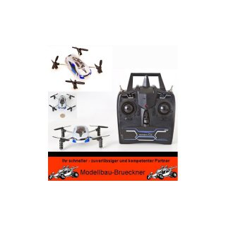 zoopa Q blu iz Quadcopter Scopter Ufo RTF 2,4 GHz Mode 2 Komplett Set